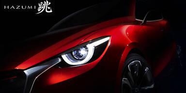 Mazda zeigt Studie des neuen Mazda2