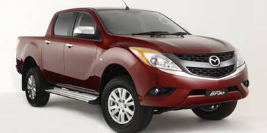 So sieht der neue Mazda Pick-up  BT-50 aus