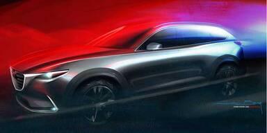 Mazda CX-9 feiert Weltpremiere