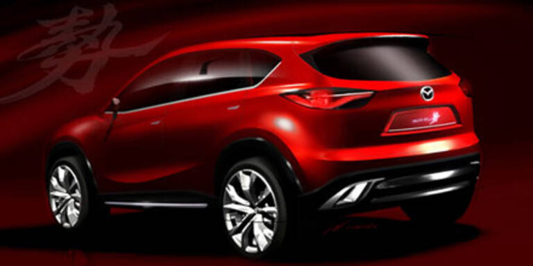 Mazda zeigt Kompakt-SUV-Studie Minagi