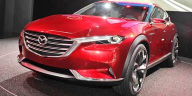 Mazda zeigt coole Crossover-Studie