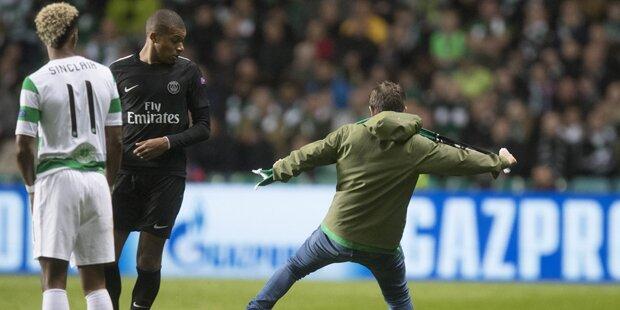 Irre Flitzer-Attacke: Celtic droht Strafe