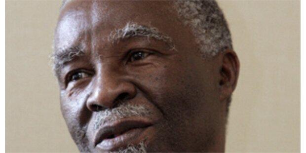Mbeki verstärkt Vermittlungsbemühungen zu Simbabwe