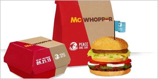Burger King schlägt McDonald's mit eigenen Waffen