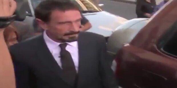 John McAfee in Guatemala festgenommen