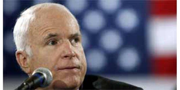 McCain hält Putin für den deutschen Präsidenten