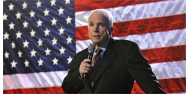 McCain erzielt im Mai persönlichen Spendenrekord