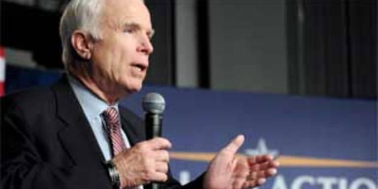 McCain gibt Ölabhängigkeit Schuld am Irak-Krieg