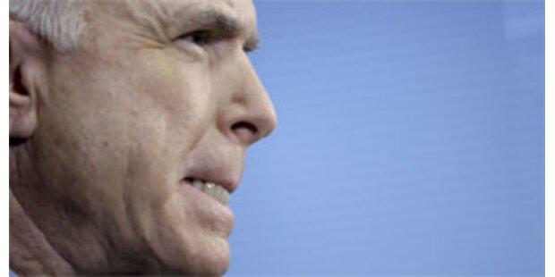 Terrorangriff würde McCain im Wahlkampf nützen