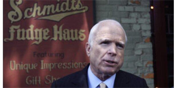 McCain sammelt Rekordspenden von 27 Mrd. Dollar