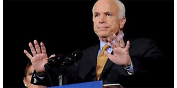 McCain: Versagt habe ich, nicht ihr!