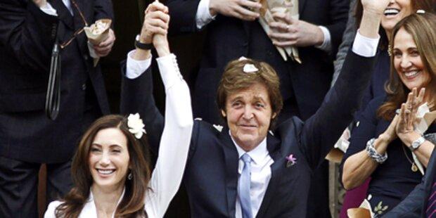 McCartney: Seine wilde Hochzeits-Party