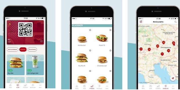 Neue Top-App von McDonald's ist da