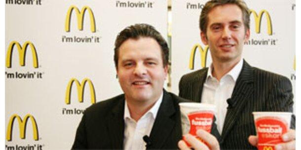Burgerriese jubelt über Rekordumsätze 2007
