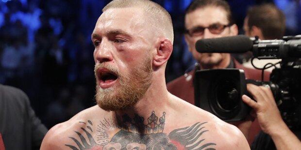 McGregor tobt nach Kampf-Abbruch