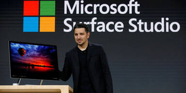 Surface Studio, Surface Book II und Paint 3D
