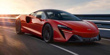 McLaren Artura: Plug-in-Hybrid-Sportler mit 680 PS