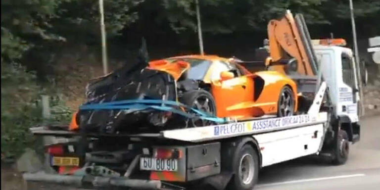 Ex-Formel-1-Star schrottet teuersten McLaren