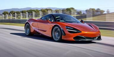Startschuss für den McLaren 720S