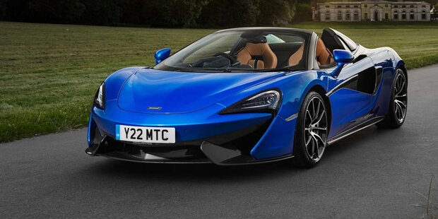 McLaren bringt den 570S Spider
