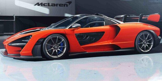 Brutaler McLaren für die Straße