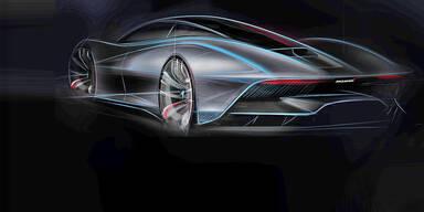 McLarens P1-Nachfolger hat über 1.000 PS