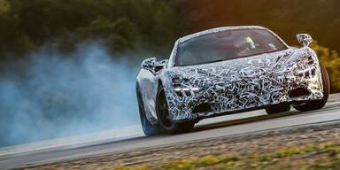 Neuer McLaren stürmt in 7,8 Sek. auf 200 km/h