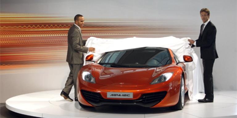 McLaren MP4-12C offiziell vorgestellt