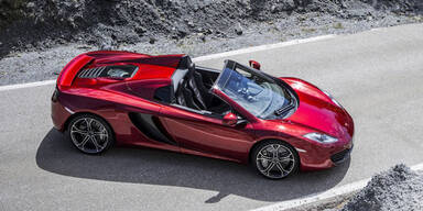McLaren bringt den 12C Spider auf die Straße