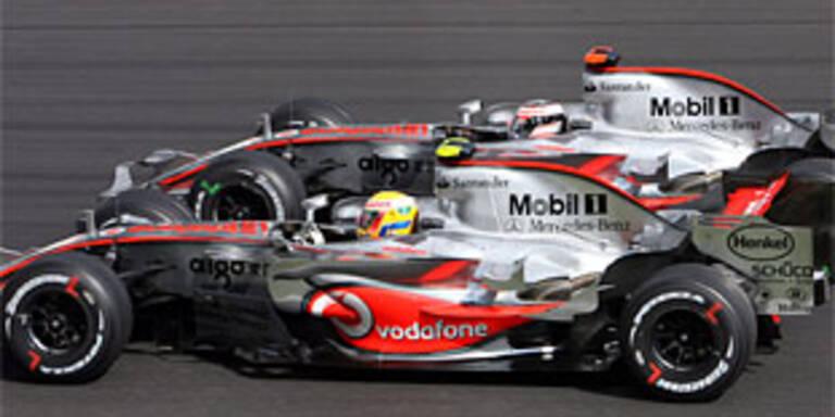 McLaren entschuldigte sich für Spionage-Affäre