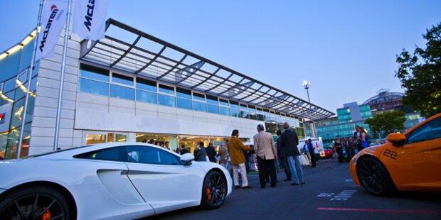 Erster McLaren-Schauraum Österreichs eröffnet