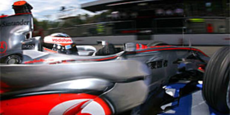 Hausdurchsuchung bei McLaren