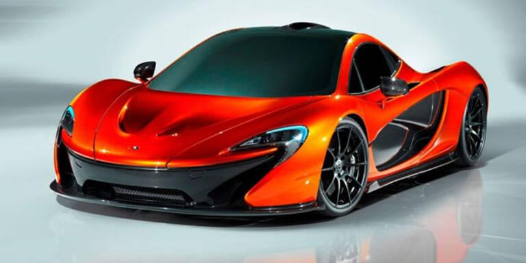 McLaren P1: Schnellster Sportwagen der Welt