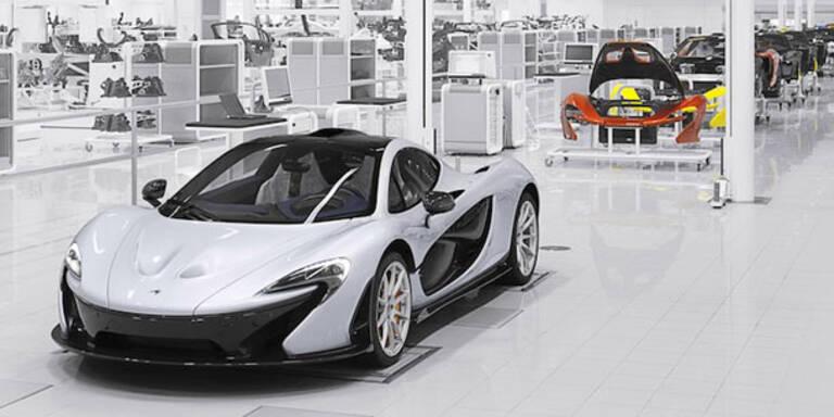 Startschuss für den McLaren P1