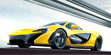 Update: McLaren P1 mit 916 Hybrid-PS