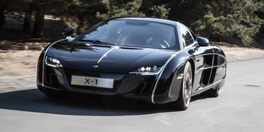 "McLaren stellt neues ""Batmobil"" vor"
