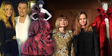 Alexander McQueen-Ausstellung 'Savage Beauty' in New York