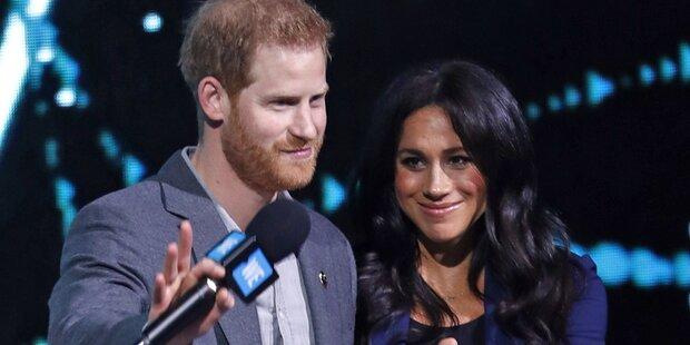 Meg & Harry: Darum soll Baby schon geboren sein