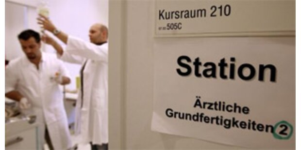 Wiener Medizin-Uni will weniger Studenten zulassen
