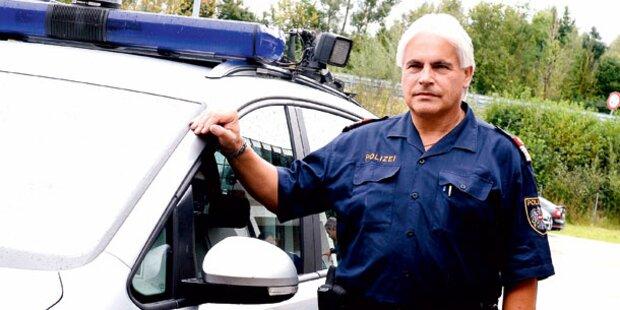 Polizist stoppt Geister-Fahrer