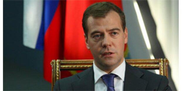 Medwedew vergleicht Kaukasus-Republik mit Kosovo