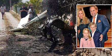Helikopter-Tragödie: Bayerische Millionärsfamilie ausgelöscht