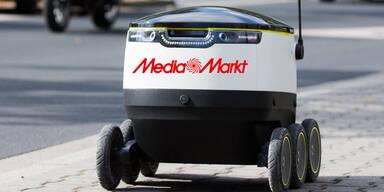 Media-Markt liefert jetzt mit Roboter