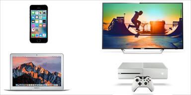 iPhone, Xbox, 4K-TVs & Co. zum Kampfpreis
