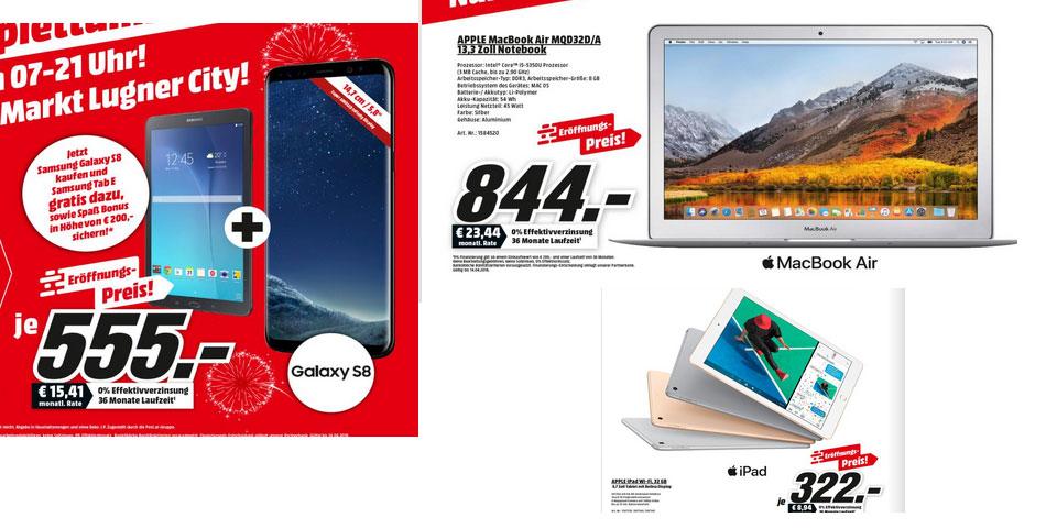 Galaxy S8 Ipad Macbook Switch Xbox Co Bei Mediamarkt Zum Kampfpreis