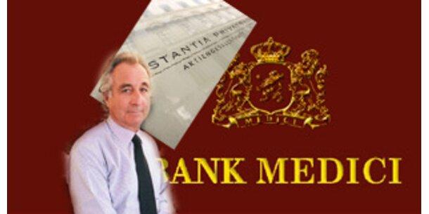 Madoff-Betrug trifft Bank Medici in Milliardenhöhe