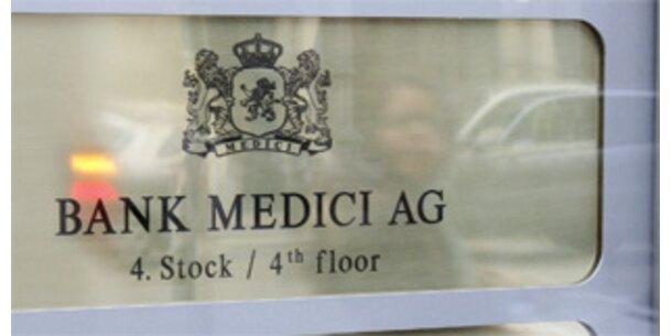 Klage gegen Bank Medici wegen Madoff-Fonds
