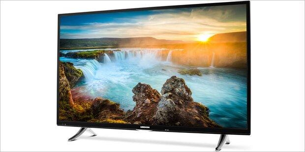 Hofer verkauft 49-Zoll 4K-TV unter 400 Euro