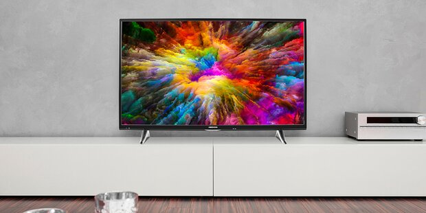 Edler 4K-TV mit HDR bei Hofer zum Kampfpreis