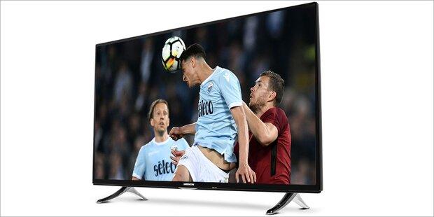 Großer 4K-HDR-TV bei Hofer zum Kampfpreis